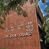 Sign: Lincoln Quad signage