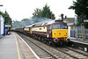 24 August 2011 :: 47790 & 47832 power through Bramley working an ECS from Eastleigh to Crewe
