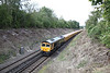 31 August 2011 :: 66709 at Scrubbs Bridge, Micheldever working stone from Mountsorrel to Eastleigh