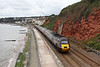 15 August 2011 :: Cross Country's 06.32 York to Plymouth passes the sea wall at Dawlish