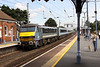 22 August 2011 :: 90013 draws away from Manningtree with the 12.30 Liverpool Street to Norwich