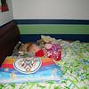 2011-08-02 - Micah sleeping in his big boy bed (2)