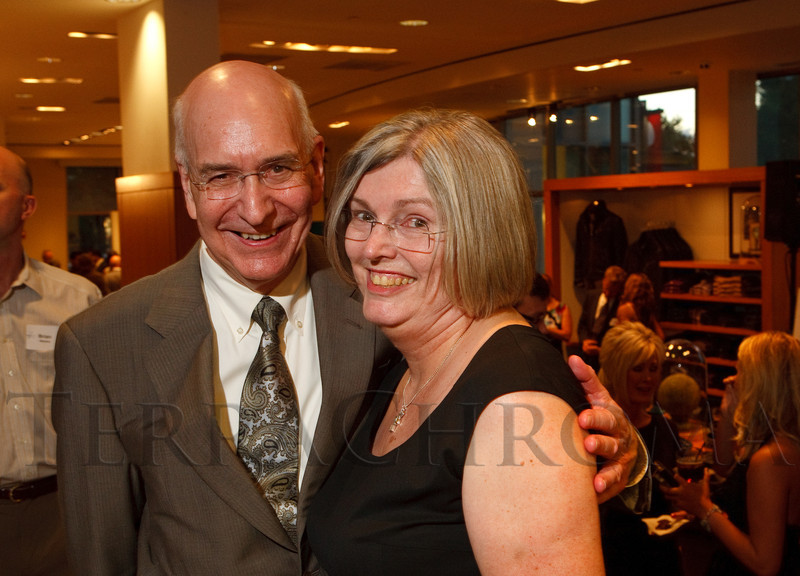 "(Denver, Colorado, Aug. 16, 2011)<br /> Dr. Ed and Linda McCabe.  The ""Be Beautiful Be Yourself"" kickoff event at Andrisen Morton in Denver, Colorado, on Tuesday, Aug. 16, 2011.<br /> STEVE PETERSON"