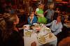 (Denver, Colorado, Aug. 27, 2011)<br /> Matt Dyer shows off his new paunch.  Celebrity Waiter event, a Concerts for Kids benefit, at Shanahan's Steak House in Denver, Colorado, on Saturday, Aug. 27, 2011.<br /> STEVE PETERSON