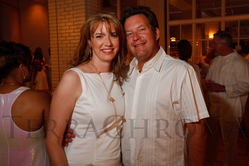 (Denver, Colorado, Aug. 27, 2011)<br /> Kelly and Joe Behm.  Summer White Party, hosted by the Urban League of Metropolitan Denver, at Green Gables Country Club in Denver, Colorado, on Saturday, Aug. 27, 2011.<br /> STEVE PETERSON