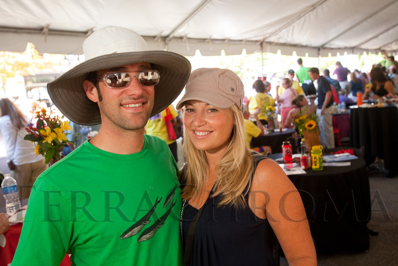 (Golden, Colorado, Aug. 28, 2011)<br /> Hayden and Elana Hirschfeld.  The USA Pro Cycling Challenge, Stage 6, from Denver to Golden, Colorado, on Sunday, Aug. 28, 2011.<br /> STEVE PETERSON