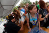 (Golden, Colorado, Aug. 28, 2011)<br /> Autographs by members of the Flobots.  The USA Pro Cycling Challenge, Stage 6, from Denver to Golden, Colorado, on Sunday, Aug. 28, 2011.<br /> STEVE PETERSON