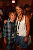 (Denver, Colorado, Aug. 28, 2011)<br /> Two of the Harris family.  After party for the USA Pro Cycling Challenge at the Rio Grande Mexican Restaurant in Denver, Colorado, on Sunday, Aug. 28, 2011.<br /> STEVE PETERSON