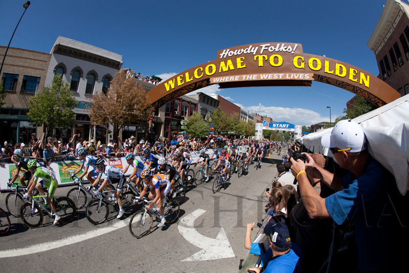 (Golden, Colorado, Aug. 28, 2011)<br /> The USA Pro Cycling Challenge, Stage 6, from Denver to Golden, Colorado, on Sunday, Aug. 28, 2011.<br /> STEVE PETERSON