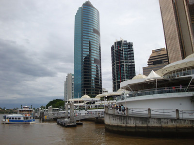 After the graduation we explored Brisbane itself.