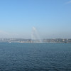 BA Fountain in Lake Geneva
