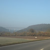 a big bridge (the Autobahn)