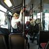 using public transportation to explore a bit