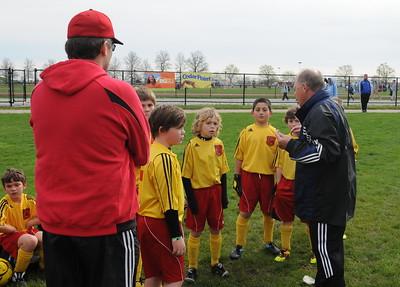 Boys U10 Bees Soccer Acad vs. Michiana Echo 1