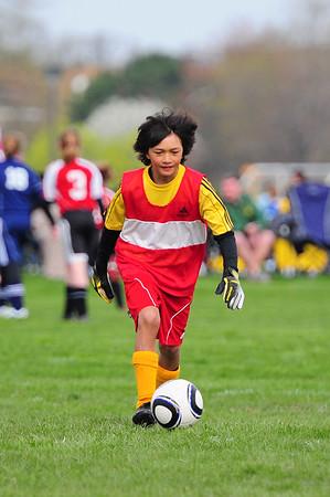 Boys U10 - Bees Soccer vs. Michiana