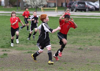Boys U11 Deleware Knights Black v Bedford United