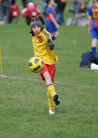 Girls U-10 Bees Soccer Acad. vs Elite FC Blue