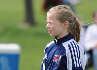 Girls U11 Michiana Echo Jellyfish vs. AAFC Patriots