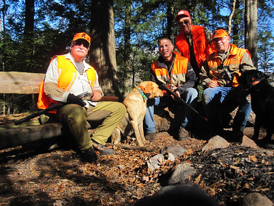 BOWHUNT,FISH,GROUSE-HUNT OCT 2011