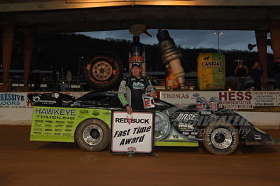 Scott Bloomquist won the Red Buck Cigars Fast Time Award