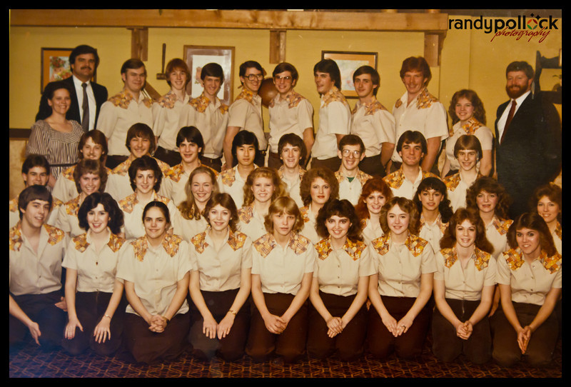 The whole crew taken either in 1983 or 1894 can't remember.