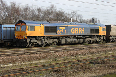 66717 at Doncaster Carr Mail Sidings  26/02/11