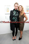 Andrea Tese, Laura Rubin attend Brad Livingstone Black Exhibition Opening on Wednesday, November 2, 2011 at Bosi Domjanovic Gallery at 48 Orchard Street (between Hester and Grand), New York City, NY. PHOTO CREDIT: ManhattanSociety.com by Chris London