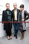 Andrea Tese, Christian Cota, Chessy Wilson attend Brad Livingstone Black Exhibition Opening on Wednesday, November 2, 2011 at Bosi Domjanovic Gallery at 48 Orchard Street (between Hester and Grand), New York City, NY. PHOTO CREDIT: ManhattanSociety.com by Chris London