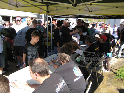 Autograph Session @ Brownstown Speedway