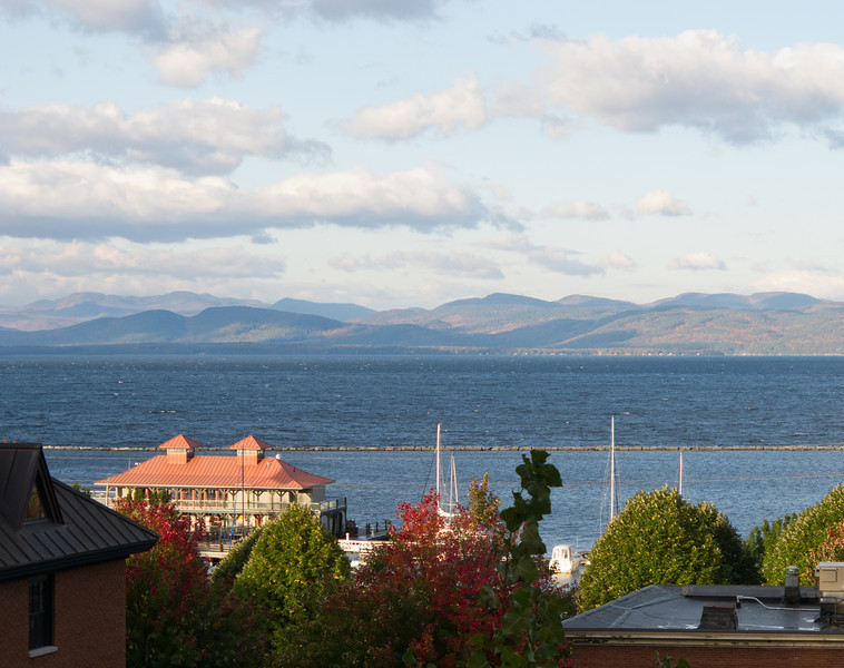 Lake Champlain from Burlington