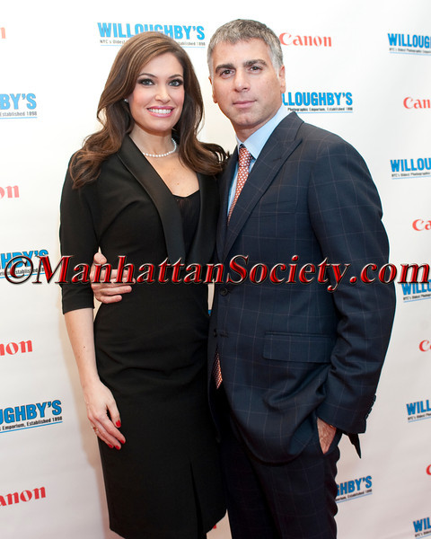 Kimberly Guilfoyle, Willoughby's CEO Joseph Douek attend CANON Boutique at WILLOUGHBY'S Opening on Monday, December 5, 2011 at Willoughby's, 298 Fifth Avenue at the corner of 31st Street, New York City, NY. PHOTO CREDIT: ©Manhattan Society.com 2011 by Christopher London
