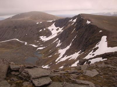 Cairn Lochan view N