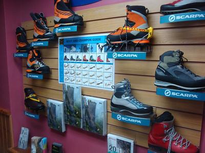 display boots