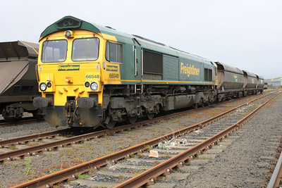 66548  between duties at Leith Docks