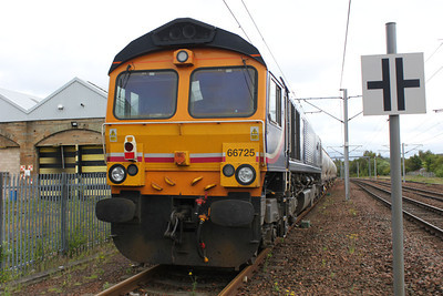 66725  on a rake of alcans at Motherwell