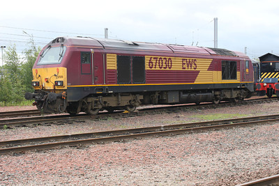 67030  at Mossend
