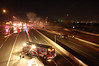 Carlstadt 11-7-11 : Carlstadt 2nd alarm on the N.J. Turnpike Western Spur Northbound on 11-7-11.