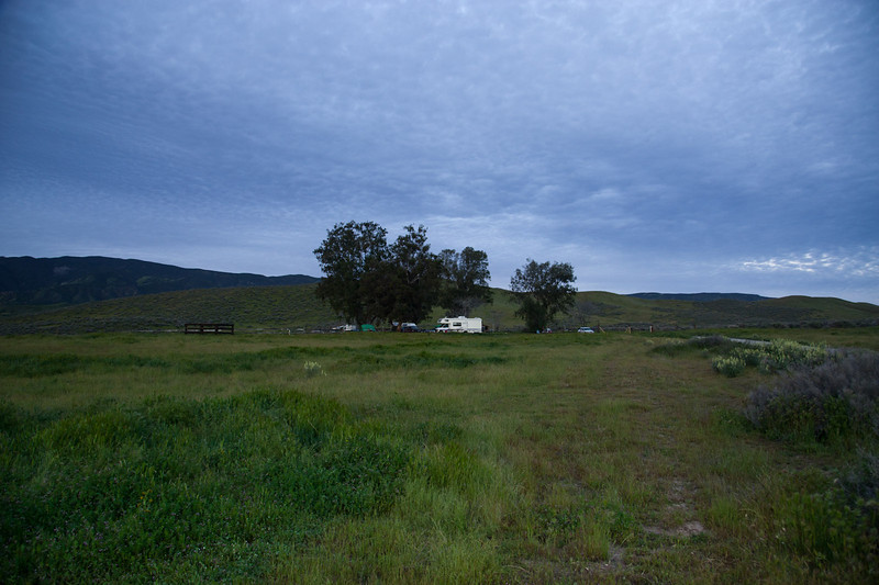 KCL campground after dawn