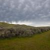 Clouds form over Caliente Ridge