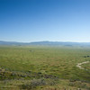 South across the Carrizo Plain