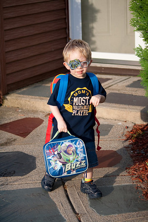 Casey's First Day of School