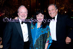James P. O'Shaughnessy, Wu Han and Peter Duchin attend The Chamber Music Society of Lincoln Center (CMS) 2011 SPRING GALA on Wednesday, March 16, 2011 at The Four Seasons Restaurant, 99 East 52nd Street, New York City, NY  (PHOTO CREDIT: ©2011 Manhattan Society.com)