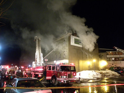 Chicopee, MA General Alarm 23 Center St. 2/26/11