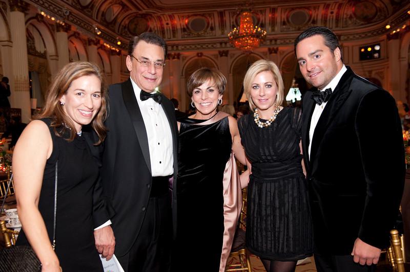 Jennifer Troy, Steve Troy, Barri Lieberman, Cass Adelman, Jason Adelman (Sharon Schuster)