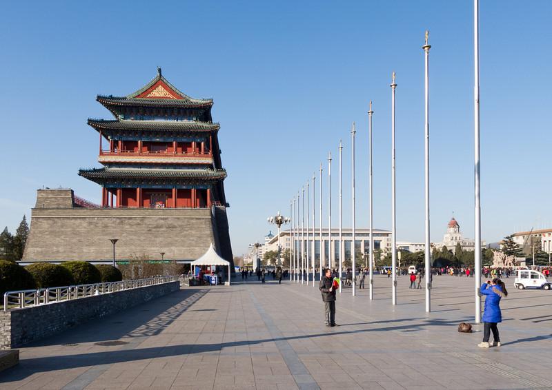 Qianmen (Front Gate): Zhengyang Men (Sun-facing Gate)