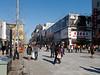 Wangfujing Dajie, the famous pedestrian shopping street