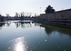 Forbidden City moat, with some ice