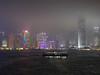 Star Ferry, Hong Kong harbor at night