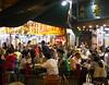 Temple Street Night Market, outdoor dining