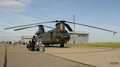 Chinook meets Hogsback Chapter, 10 Aug 2011